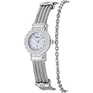 Charriol St Tropez Mother of Pearl Dial Diamond Ladies Watch ST20SD520007 image