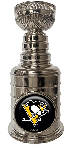 Pittsburgh Penguins Mini Replica Stanley Cup Trophy Paperweight 3.25 inches Tall