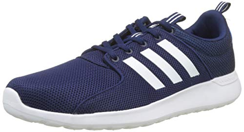 adidas CF Lite Racer, Zapatillas Hombre, Azul (Dark Blue/Footwear White/Bright Blue 0), 44 EU