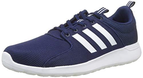 adidas CF Lite Racer, Zapatillas de Gimnasia para Hombre, Azul (Dark Blue/Footwear White/Bright Blue 0), 49 1/3 EU