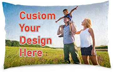 cheerly Custom Pillow Case Personalized Pillow Case with Your Name Photo Customize Pillow Case product image