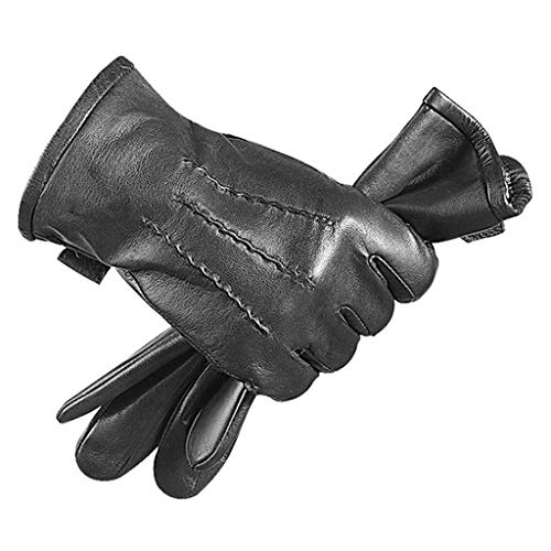 Pantalla táctil caliente las IG anti Drop Shock de absorción resistente al viento y las IG cuero genuino a prueba de agua for la escalada Hombres Mujeres deportes al aire libre de la motocicleta de la