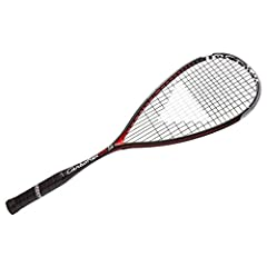 Frame Weight: 125 +/- 5 g Head Size: 500 cm2 / 77.5 sq.in. Balance: 350 +/- 5 mm Composition/Construction: Graphite/Basaltex RACQUET COMES FACTORY STRUNG. 3/4 COVER INCLUDED.
