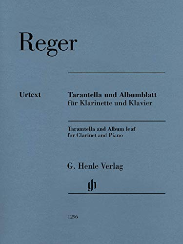 Tarantella und Albumblatt; Klarinette in B und Klavier