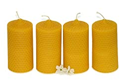 Figura Santa beeswax candles
