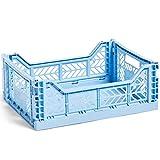 HAY Colour Crate M - Contenitore per il trasporto, altezza 14,5 cm, profondità 30 cm, lunghezza 40 cm