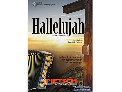 Michlbauer Harmonikawelt, Leonard Cohen - Hallelujah, incl. CD