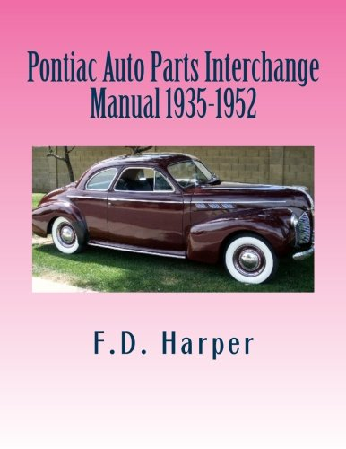 Pontiac Auto Parts Interchange Manual 1935-1952