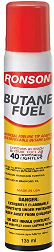 Ronson Multi-Fill Butane Fuel Refill   78g/ 2.75 oz   1 Pack