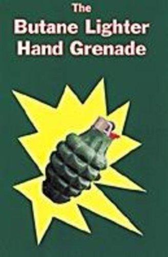 Butane Lighter Hnad Grenade