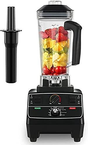 CJDM Máquina exprimidora, sin BPA 2L Lata 2200W Temporizador Inteligente Profesional Licuadora preprogramada Licuadora Procesador de Alimentos Trituradora de Batidos de Helado
