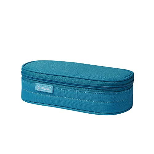 herlitz 50021956 Faulenzer Etui Fresh blue, 1 Stück