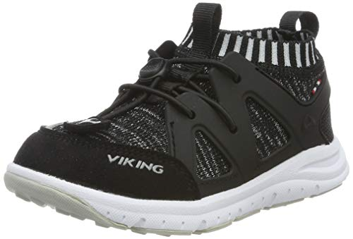 viking Unisex-Kinder BROBEKK Cross-Trainer, Schwarz (Black/Grey 203), 34 EU