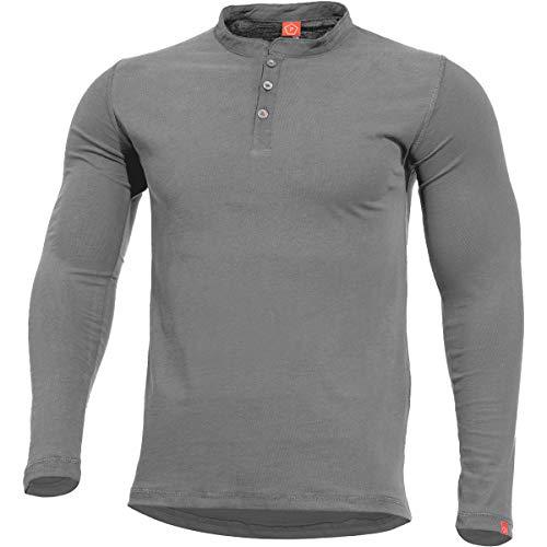 Pentagon Romeo Henley Herrenhemd Wolf Grey Größe 3XL