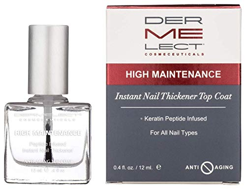 Dermelect Cosmeceuticals High-Maintenance Instant Nail Thickener - 0.4 oz.