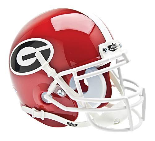 Schutt NCAA Mini Authentic XP Football Helmet, Georgia Bulldogs