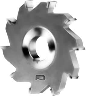 F&D Tool Company 14151-MC5206 Carbide Tipped Slitting Saw, Standard Tooth, Cast Iron, 1 1/4