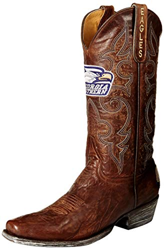NCAA Georgia Southern Eagles Men's Board Room Style Boots, Brass, 11 D (M) US