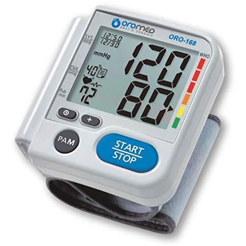 Oro-Med Handgelenk-Blutdruckmessgerät zur Messung von Blutdruck und Puls am Handgelenk Oromed
