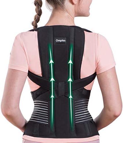 Omples Posture Corrector for Women and Men Back Brace Straightener Shoulder Upright Support product image