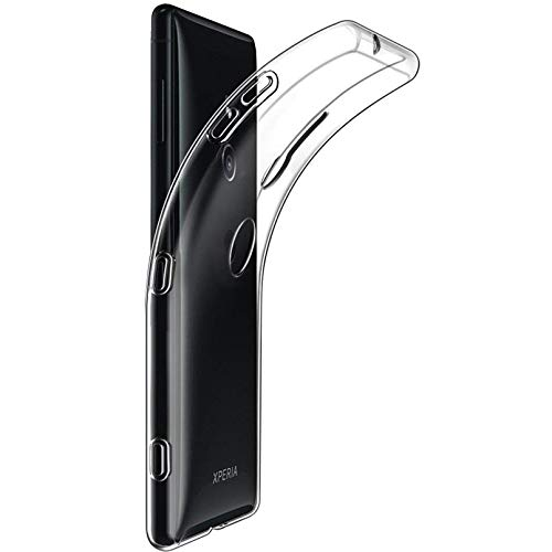 Tektide Case Compatible for Sony Xperia XZ3, [Invisible Armor] Xtreme Slim, Clear, Soft, Drop Protection TPU Rubber Bumper Case/Back Cover