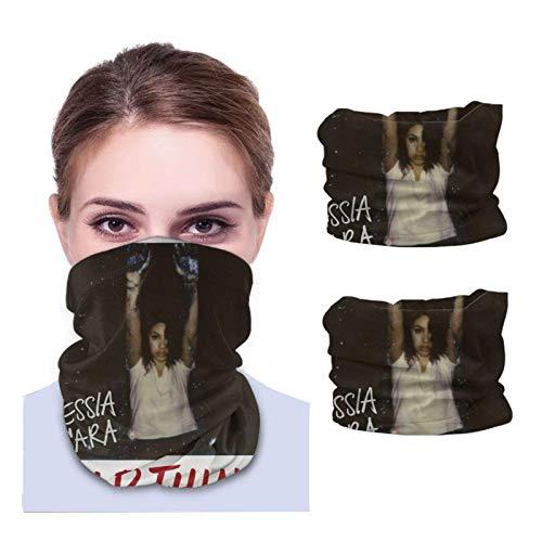 Lawenp Alessia Cara Wild Things 2 Pcs Multifunctional Bandanas Balaclava Anti Dust neck Face Scarf