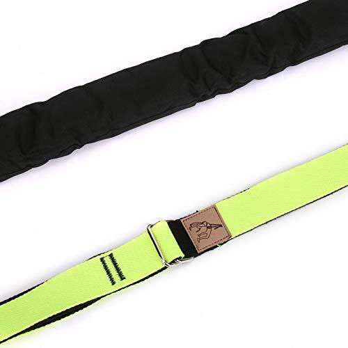 BOTEGRA Pecho Recto Yoga Estiramiento Cinturón Yoga Tirador Cintura Delgada Hebilla de Acero, para Fitness