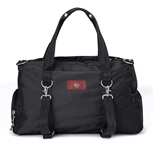 Live Well 360 - The LUXX (Onyx Black) - Best Gym Duffel...