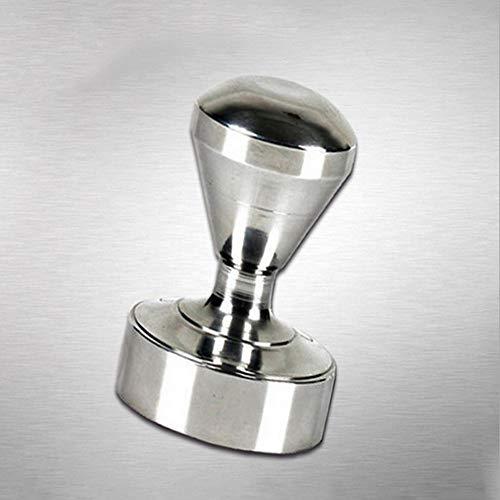 asentechuk® Boden flach massiv Edelstahl Kaffee Tamper Pulver Espresso Press-Werkzeug Kaffeebohnen...