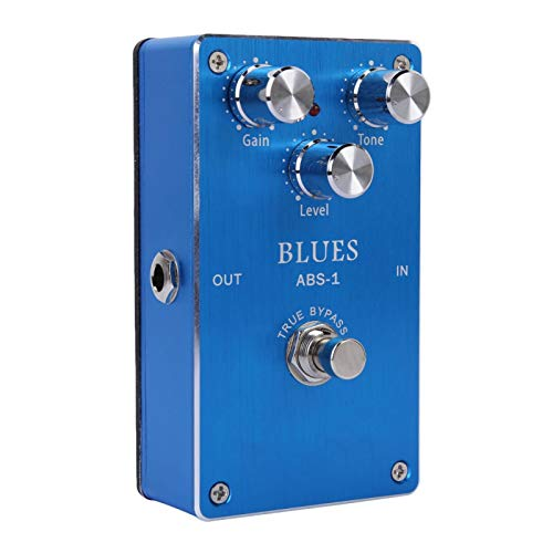 Blues Effect Pedal Portable Guitar Pedal for Guitar Beginners for Electric Guitars