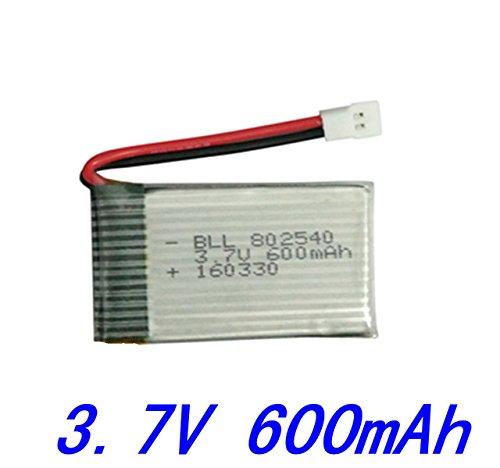 3. 600mAh Batterie