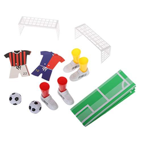 siwetg Trikot-Tischfußball, Fingerfußball, Spielspiel-Set, Partyzubehör, Kinderspielzeug