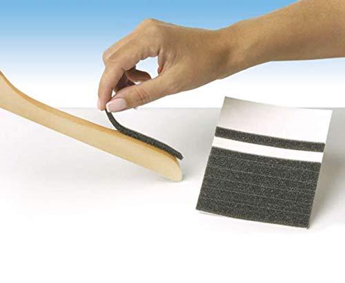 NAHANCO FP2 Foam Strips, Non-Slip, Grey (Pack of 200)