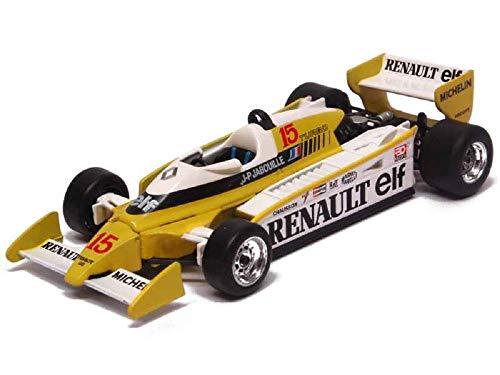 Renault Norev Formula 1 RS11 – Scurie Sport – Anno 1979 – Motore EF1 V6 Turbo – Pilota 15 Jean Pierre Jabuille