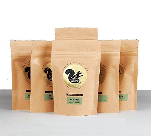 THE FLYING SQUIRREL Taster's Whole s (Medium Grind - 300 g) - Pack of 6