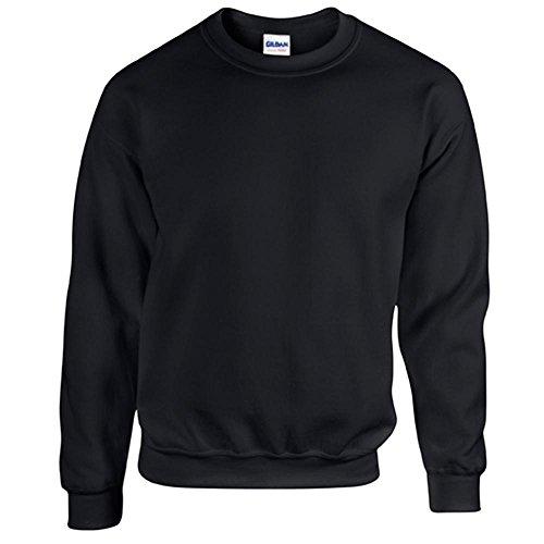 Gildan - Heavy Blend Sweatshirt - S, M, L, XL, XXL, 3XL, 4XL, 5XL / Black, 4XL
