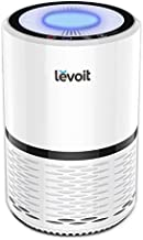 LEVOIT Air Purifiers for Home, H13 True HEPA Filter for Smoke, Dust, Mold, and Pollen in Bedroom, Ozone Free, Filtration System Odor Eliminators for Office with Optional Night Light, 1 Pack, White