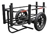 Rambo R185 Aluminum Fishing Cart, Black, One Size