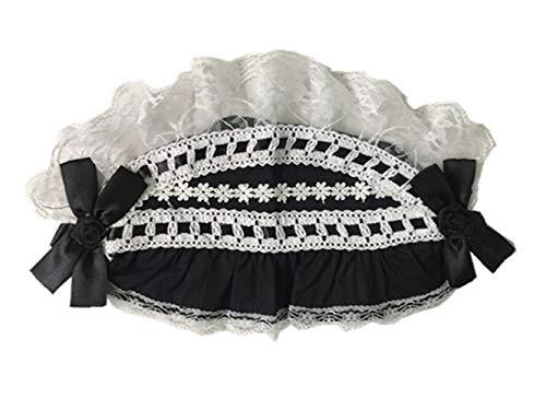 Black sugar Serre-tête pince cheveux diadème barrette lolita maid rubans dentelle uniforme médiéval rétro