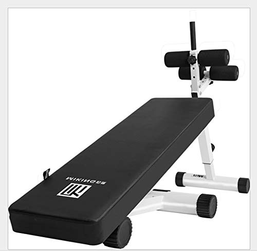PLEASUR Utility-halterbanken voor training van het hele lichaam, verstelbare halterbank – opvouwbare schuin/schuine en schuine bankdrukken voor de fitnessstudio thuis.