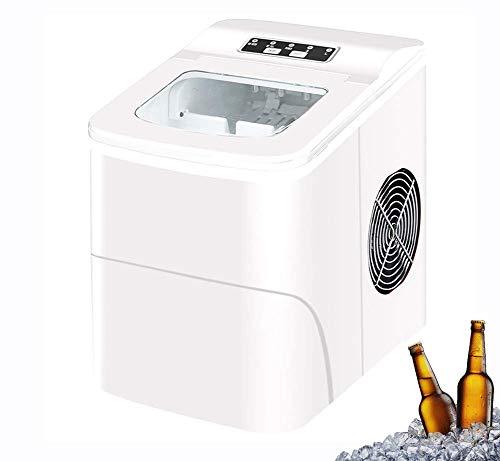 Fabricante de cubos de hielo, cubitos de hielo listos en 6 minutos, hace 33 lbs hielo en 24 hrs, perfecto para fiestas bebidas mixtas