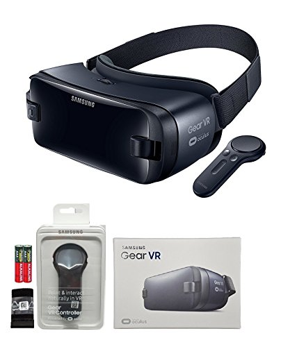 Samsung Galaxy VR - 2016 Model W/Controller MKK Stylus - (US Version with Warranty -Retail Pack ) For S7,S7 Edge,Note5,S6,S6 edge,Edge+