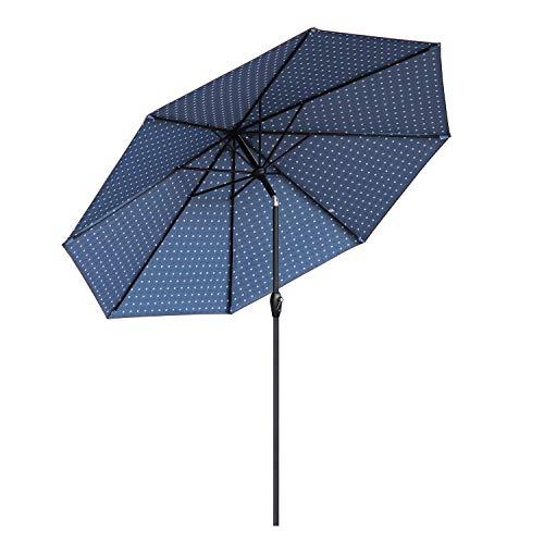 Sekey® 300 cm Sonnenschirm Marktschirm Gartenschirm Terrassenschirm Rund UV50+