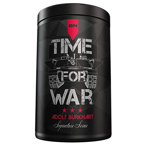 GN Laboratories Signature Series Time for War by Adolf Burkhard Pre-Workout Booster Trainingsbooster Fitness Bodybuilding 400g (Panzerschokolade)
