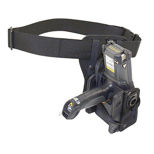 Agora Leather S5679DWSP Polypropylene Molded RFID Holster for MC9090-G RFID/MC9190/MC9200, with Waist Pad and Waist Belt