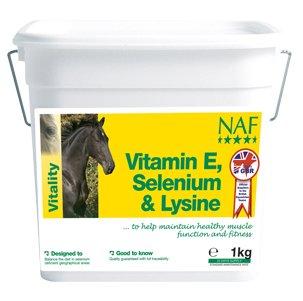 NAF Vitamin E, Selenium & Lysine - 3kg