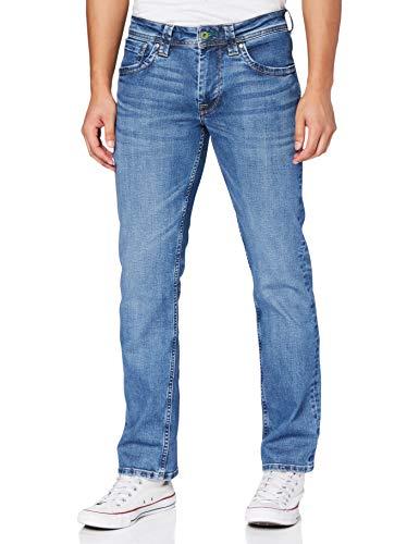 Pepe Jeans Kingston Zip Vaqueros, Azul (Denim Q12), 36W / 32L para Hombre