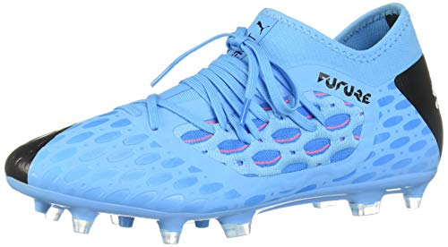 PUMA Men's Future 5.3 Netfit FG/AG Sneaker, Luminous Nrgy Blue Blackpink Alert, 9 M US