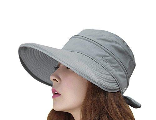 Sombrero de béisbol para mujer, elegante, de ala ancha, protección solar UV, ligero, transpirable, para camping, playa, golf, tenis, para viajero, para la cabeza