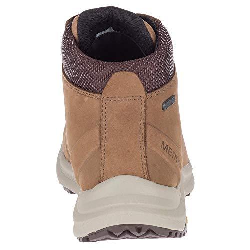 Merrell mens Ontario Mid Waterproof Hiking Shoe, Dark Earth, 10.5 US